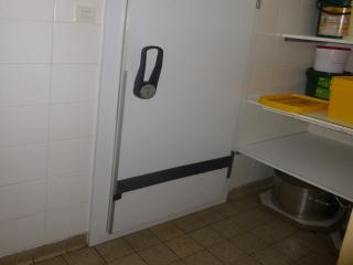 begehbarer Kühlschrank